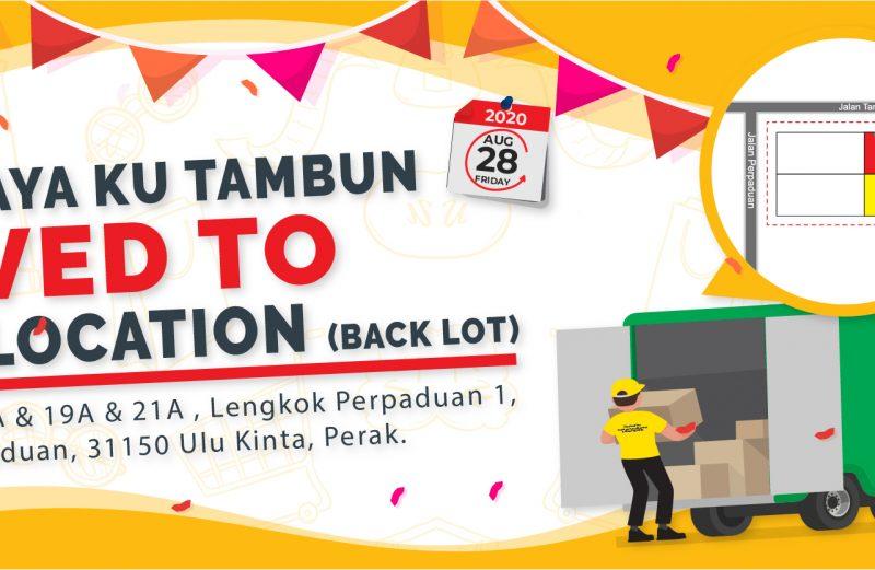 Tambun Outlet Recocation
