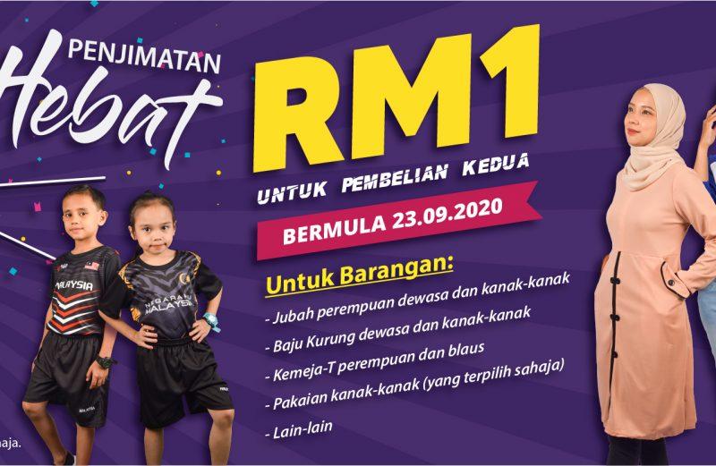 Promosi Pakaian RM1 BM